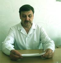 Головний лікар Любецької лікарні Крилов В.К.