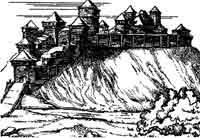 Мабуть так виглядав Любецький замок
