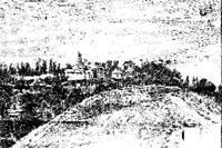 На цій горі стояли замки ХІ-ХІІ ст., Польсько-Литовський та Мазепин.