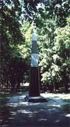 Пам'ятник любечанам, які загинули в роки війни.