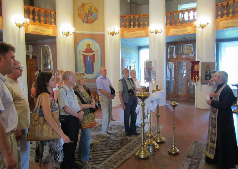 В Спасо-Преображенській церкві