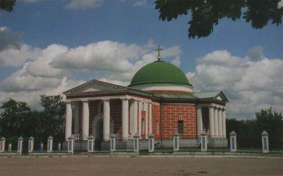 Спасо-Преображенська   церква. Нині діюча