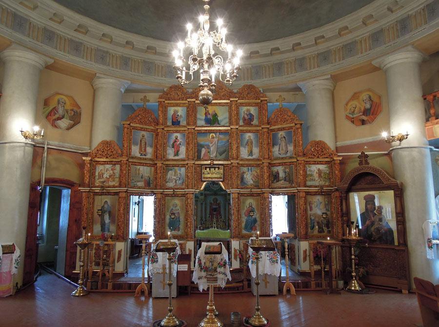У Спасо-Преображенському храмі в Любечі