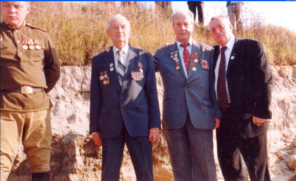 Почесні громадяни смт.Любеч на березі Дніпра