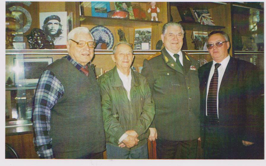 Почесні громадяни смт.Любеч у Московському комітеті ветеранів війни