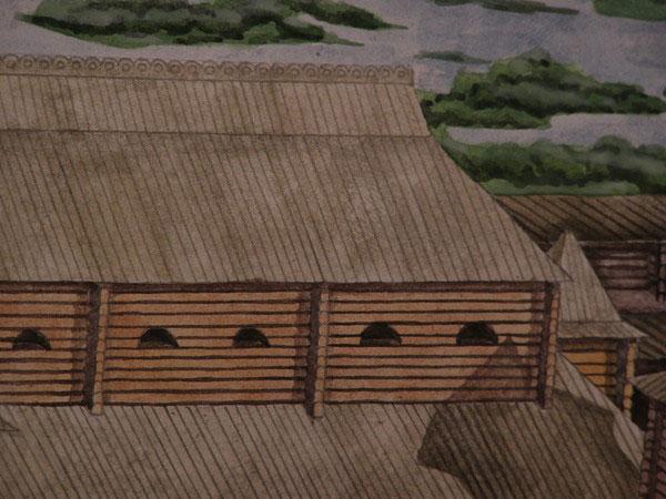 Недалеко від башти був розміщений триповерховий княжий терем.