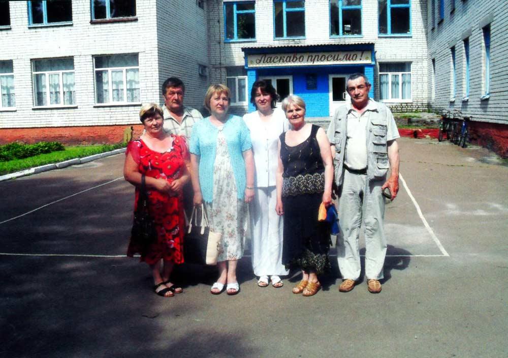 Дорогі гості в Любецькій школі